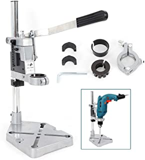 Wanlecy Electric Drill Press Stand, Adjustable DIY Tool Hand Drill Press Holder, Drill Press Table for Drill Workbench Repair Plug-in Rig