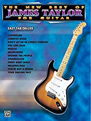 The new best of james taylor for guitar guitare