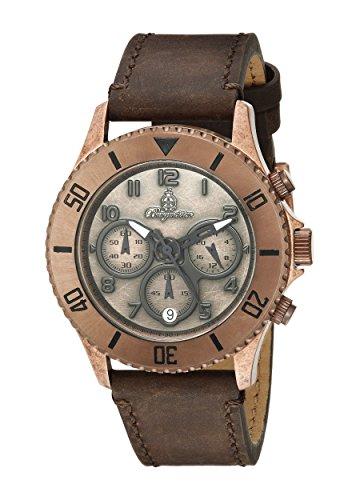 Burgmeister Reloj de Cuarzo Man Vintage 42 mm