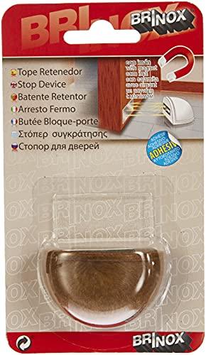 BRINOX Tope retenedor con imán, Madera, 4.8x3.3x2.5 cm
