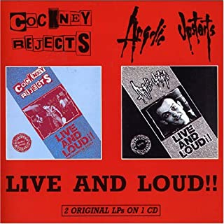 Live & Loud by Cockney Rejects (2001-11-06)