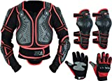 Kids Children's Motorbike Motorcycle Protective Motocross Body Armour Chest Protector Guard Jacket Dirt bike Racing Safety Armour