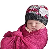 Sunmig Newborn Baby Stretch Wrap Photo Props Wrap-Baby Photography Props (Rose)
