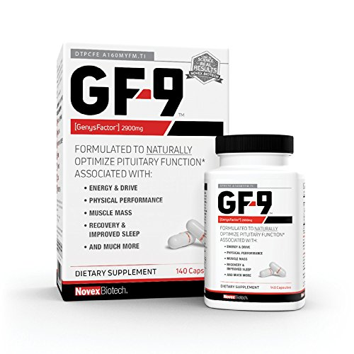 GF-9-140 Count - HGH Boosting Supplements for Men - Human Growth Hormone Booster for Men - HGH Booster for Men - Boost Critical Peptide That Supports Energy, Sex Drive, Physical Performance & More
