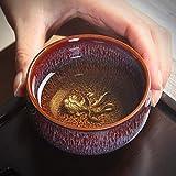YTO Taza de té de cerámica, lámpara de té Tianyu, Set de té de Kung fu, Taza de cata de una Taza, Set de té, Adornos de té
