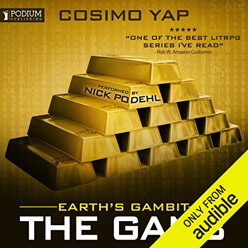 Earth's Gambit audiobook cover art
