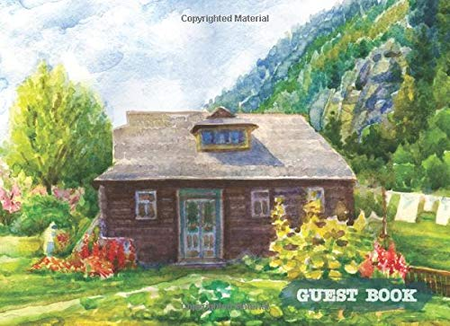 Real Estate Investing Books! - Guest Book: Rustic Cabin Lake Guest Book, Visitor Welcome for Vacation Home, Airbnb, B&B, VRBO, House Rentals (Vacation Holiday Home Cabin & Lake Guestbooks)