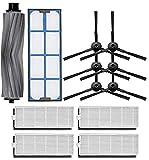 YZ-YUAN Cepillo + Cepillo Lateral + Filtro de Polvo Hepa para Ilife A6 / X620 / X623 / X660 Piezas para Accesorios de Robot Aspirador