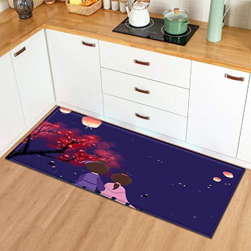 Zerbino tappeto cucina tappetino stampa domestica San Valentino modello pavimento tappeto camera da letto decorazione ingresso zerbino corridoio bagno tappeto antiscivolo