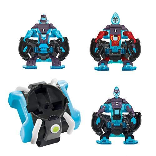 Ben 10 Omni-Launch Battle Figures- Omni-Enhanced Heatblast, Diamondhead & XLR8
