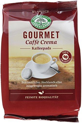 Lebensbaum Gourmet Caffè Crema Pads, klassisch, 5er Pack (5 x 126 g)