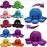 Cute and soft plush doll with realistic expression, clear outline and lifelike The unique octopus flip design provides you with different visual and sensory experiences. This is a great children's toy, birthday gift, Valentine's day gift, Christmas g...