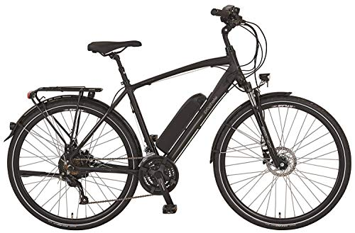 28 Zoll PROPHETE Entdecker e9.6 Disc Herren E Bike Elektro Trekking Fahrrad Pedelec Scheibenbremse 36V schwarz