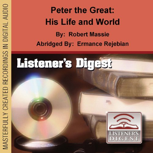 Peter the Great audiobook cover art