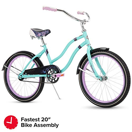 "Fairmont 20"" Girls Cruiser Teal Quick Connect"