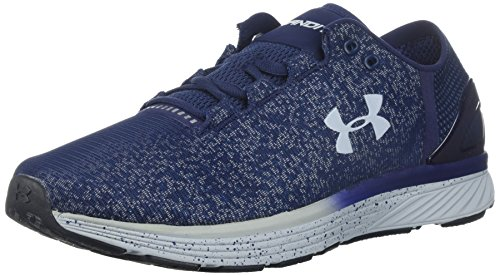 Under Armour Men's Charged Bandit 3 Reflect Running Shoe, Midnight Navy (400)/Urban Blue, 16