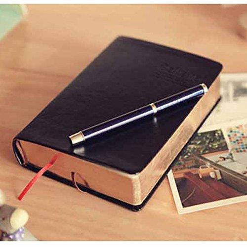 Baban Notizbuch, Tagebuch, hochwertiges Leder, Vintage-Stil
