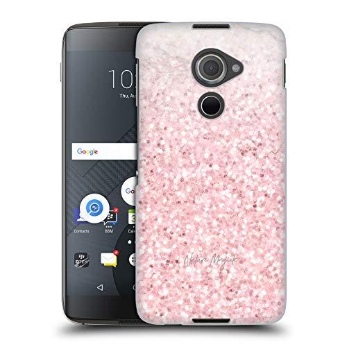 Head Case Designs Offizielle Nature Magick Pink Funkel 2 Rosa Gold Marmor Glitzer Harte Rueckseiten Huelle kompatibel mit BlackBerry DTEK60