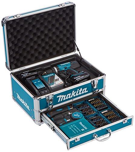 Makita DHP453RYX2 Schlagbohrmaschine / 2 Batterien 18V 3Ah