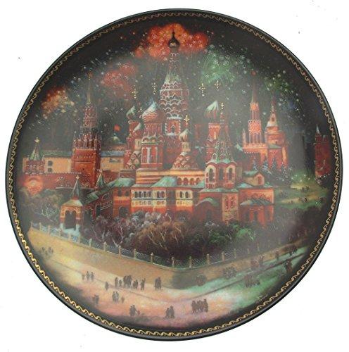 Bradford Exchange Byling Joyas del Anillo de Oro San Basilio Moscú CP109