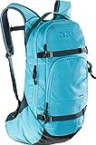 EVOC Herren Line Performance Rucksack, Heather/neon Blue, 52 x 26 x 14 cm, 18 Liter