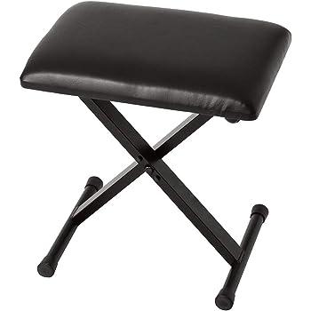 KORG ピアノ用 X型椅子 PC-110 BK ブラック