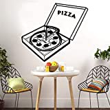 Tianpengyuanshuai Vinilos Decorativos para Pizzas de Belleza Habitación Infantil con vinilos Decorativos de Vinilo 50X54cm