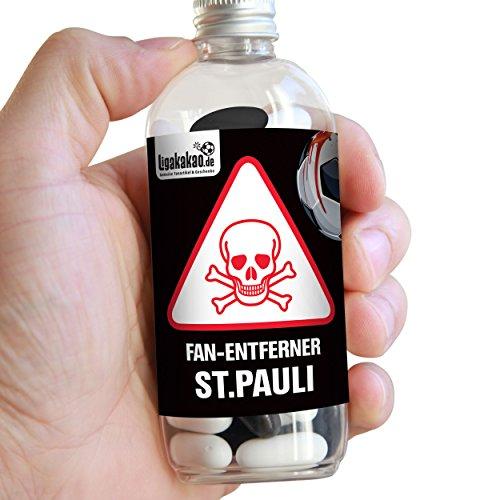 Fan-Entferner St.Pauli | Lakritz Giftköder zur effektiven Abwehr von St.Pauli-Fans | Hamburg-, Bremen & alle Fußball-Fans Aufgepasst, diesen Süßigkeiten kann kein Freund widerstehen | Lakritz