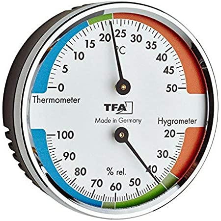 TFA-Dostmann TFA 45.2040.42 - Termohigrómetro para un mejor ambiente y un ambiente