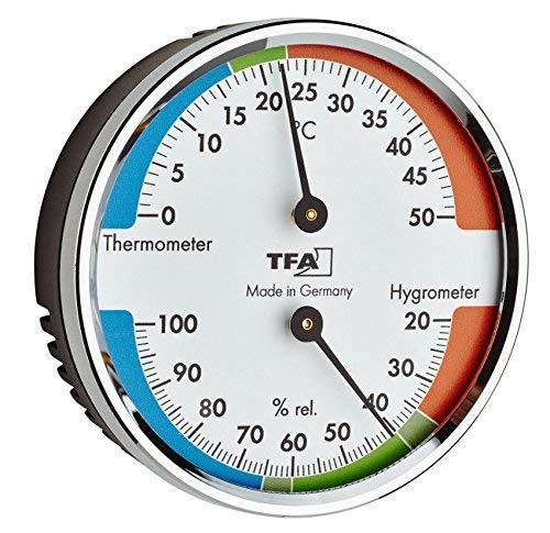 TFA-Dostmann TFA 45.2040.42 - Termómetro e higrómetro para un Mejor Ambiente y Vivienda