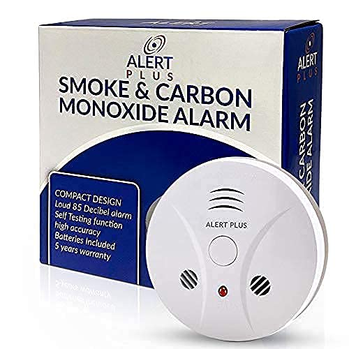 Smoke and CO Alarm Detector Combo Unit Battery Operated