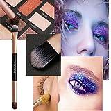 Snowfoller Makeup Brush Eye Shadow Brush Eyeshadow Brush Makeup Tool Long-Handled Brush Eye Shadow brush (Gold)
