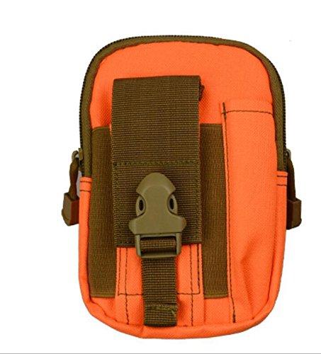 ZYT 5.5/6 pouces téléphone étanche sac paquet sports de plein air Pocket hommes courir jambes . orange