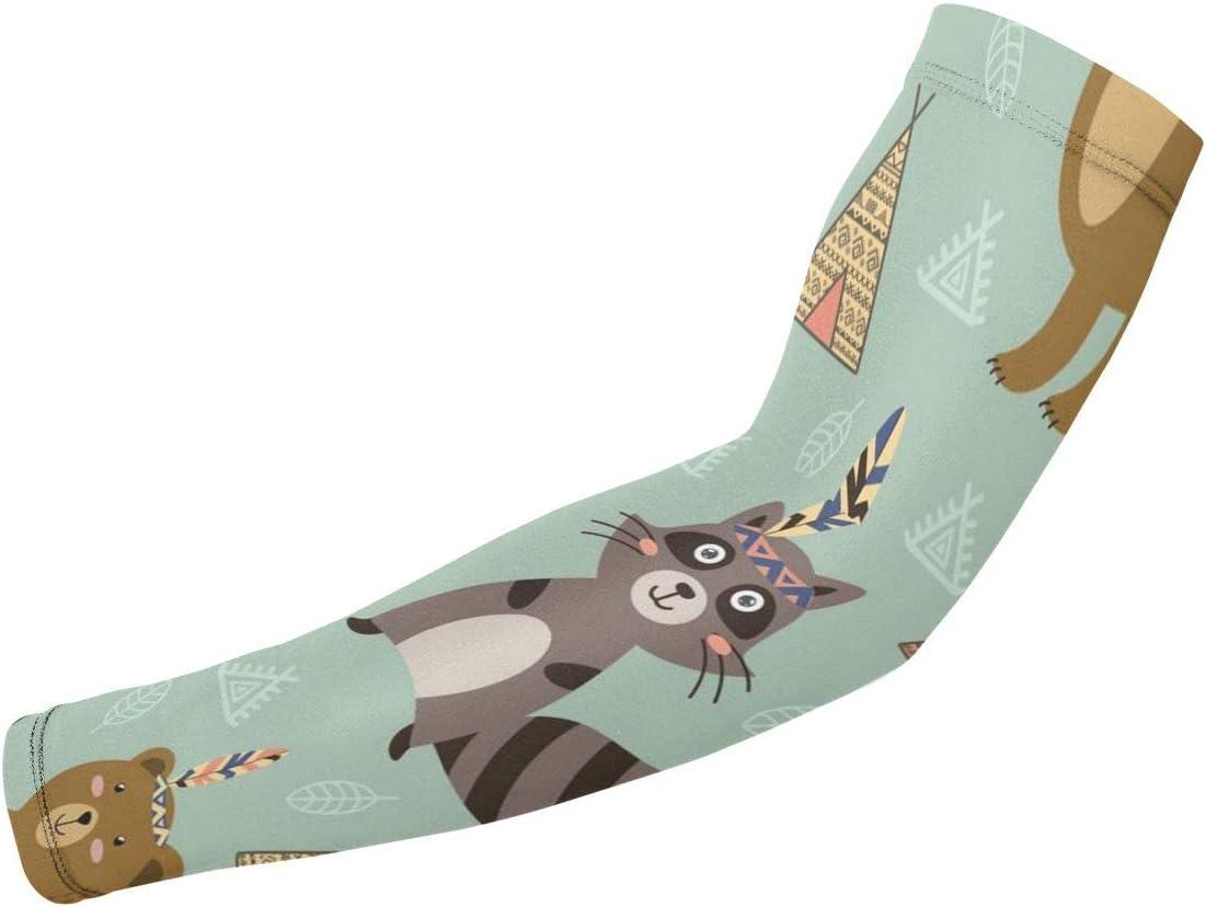 Liumong Ranking TOP6 Tribal Fox Bear Panda Printed KawaiiThemed Spo Cool Bombing new work Cute
