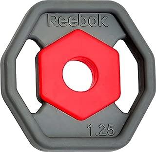 Reebok rswt-10090–1Discs, Colour Grey, 2X 1.25Kg