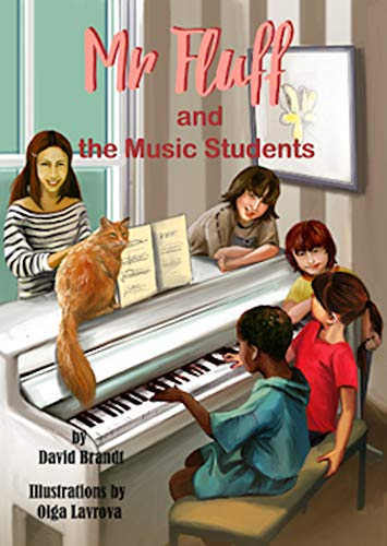Mr. Fluff and the Music Students (English Edition)