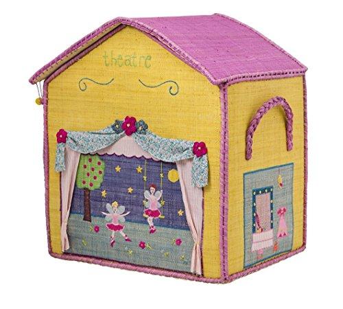 Rice Aufbewahrungskorb Spielzeugaufbewahrung Spielzeugkorb Haus groß