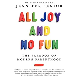 All Joy and No Fun audiobook cover art