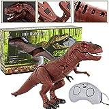 Remote Control Dinosaur Toy Figure for Kids, Electric Dinosaur Toy Tyrannosaurus Rex Animal