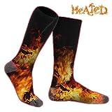 JANELIFE Unisex Rechargeable Heated Socks