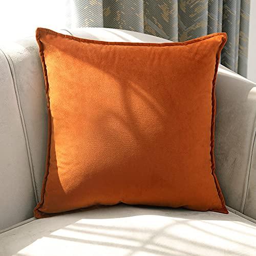 Almohada Ergonómica para Dormir en Diferentes Posturas (Lado, Espalda o Estómago) -Naranja_45 * 45cm
