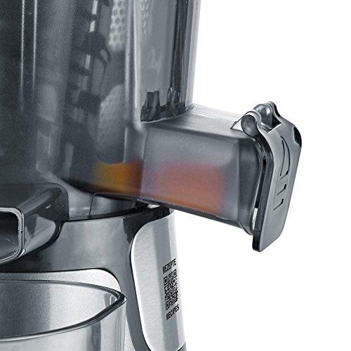 Slow Juicer 150 W mit Frozen Fruits Aufsatz Bild 4*