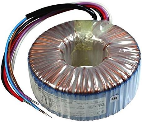 Transformador toroidal 200VA 230V 2x18V 36V Sedlbauer RSO-826041