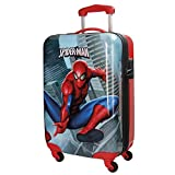 Spiderman City Valigia per bambini, 55 cm, 33 liters, Multicolore (Multicolor)