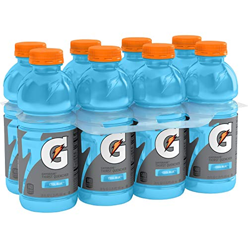 Gatorade Wide Mouth Cool Blue, 20 Fl Oz (pack of 8)