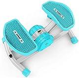 WGFGXQ Aerobic Mini Stepper Fitness Swing Inalámbrico Bluetooth Stepper Home Pequeño Mini Máquina de pérdida de Peso Masajeador de pies Equipo de Fitness, Entrenador de máquina elíptica
