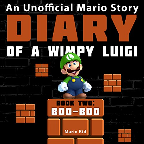 Diary of a Wimpy Luigi: Boo Boo audiobook cover art