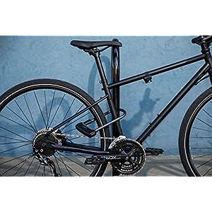 Abus 640/135HB230 BLACK - Horquilla Granit Plus negra +TexKF