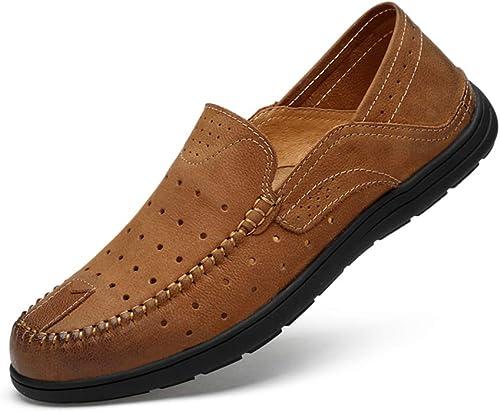 XSY2 XSY2 Mocassins confort pour homme Mocassins confort et cuir été noir brun gris  le meilleur service après-vente