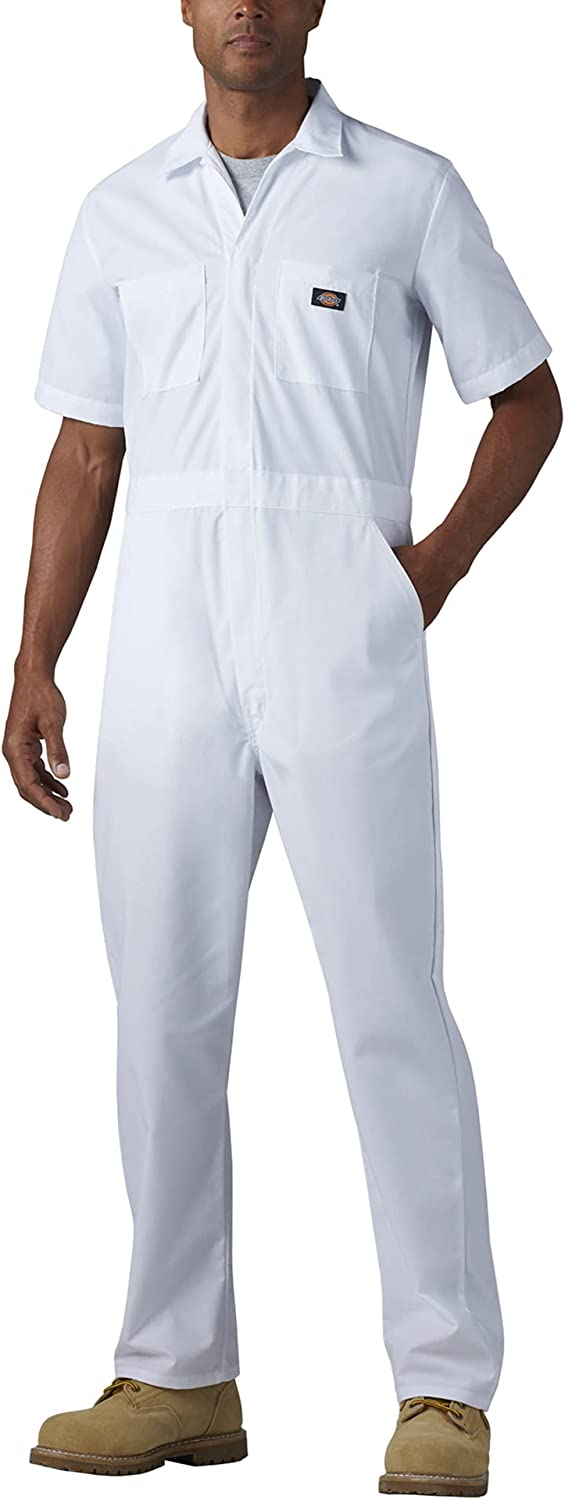 Dickies Men's Short-Sleeve Sales for sale Coverall Raleigh Mall